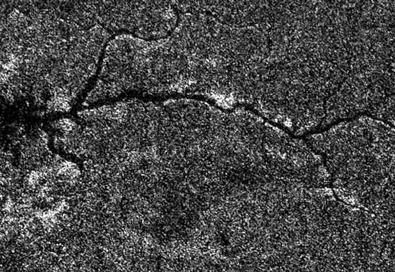 Река на Титане