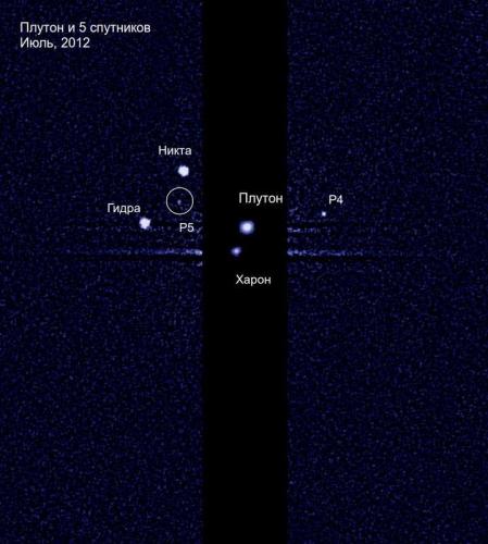 Спутники Плутона. Хаббл