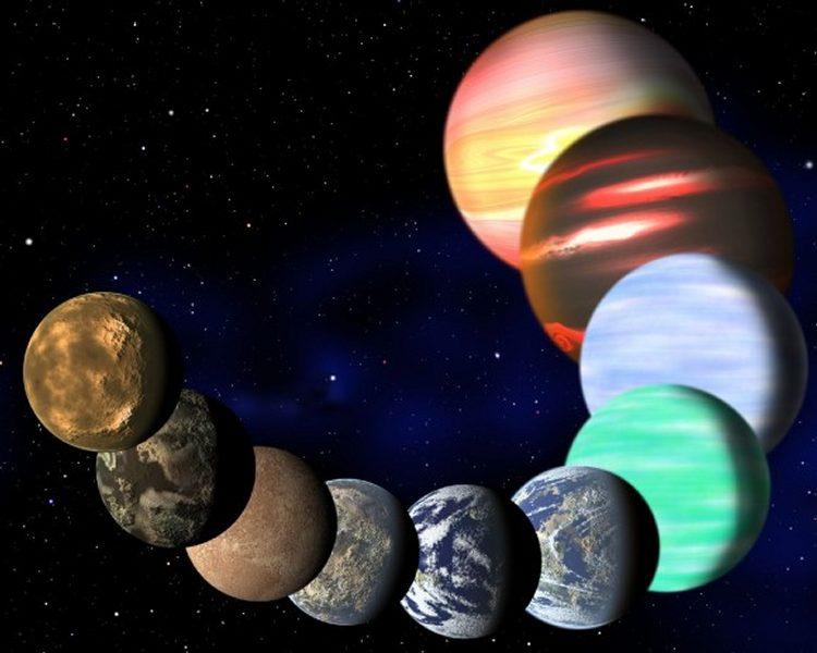 Разнообразие обнаруженных планет