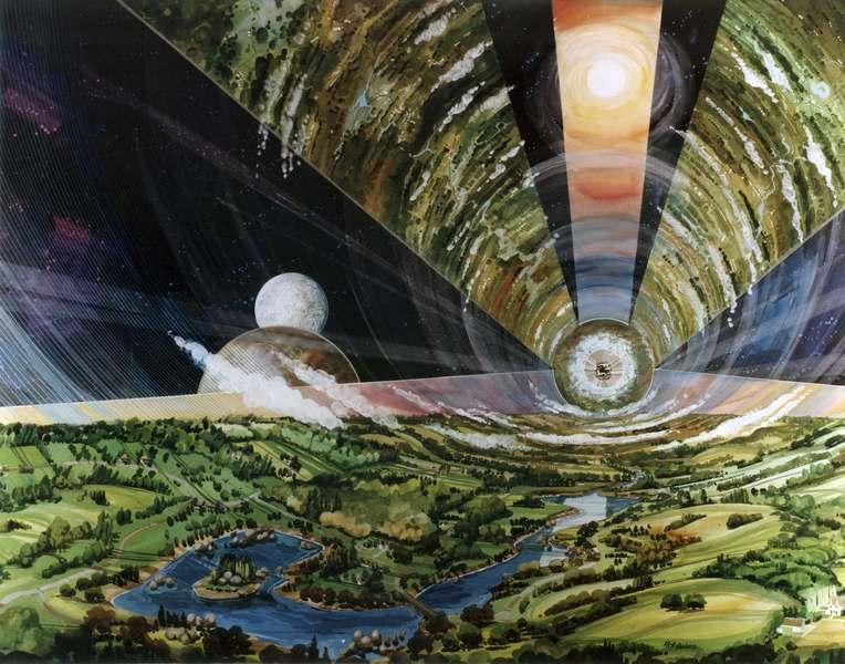 Искусственная гравитация - Остров 3