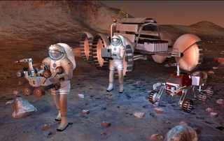 Полёт человека на Марс и радиация