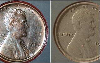 Монета на Марсе