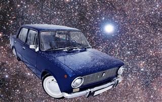 Жига в космосе