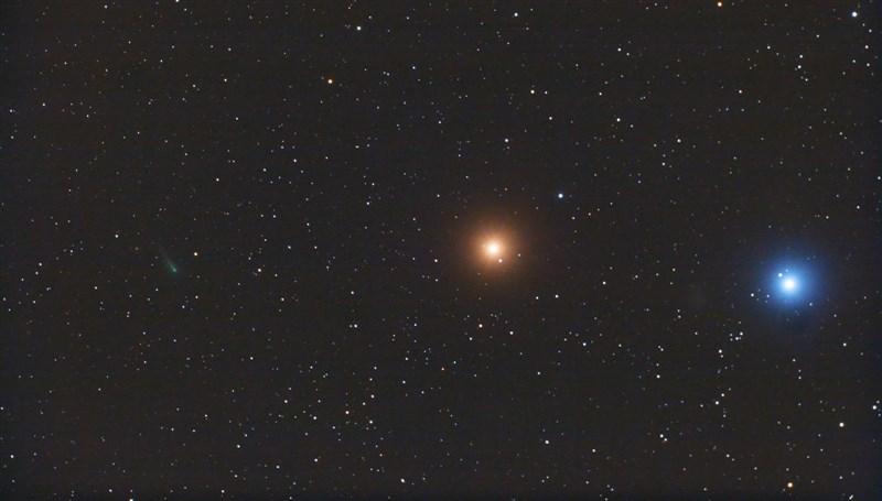 Комета ISON, Марс и Регул