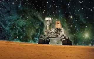 комета ISON пролетит возле Марса