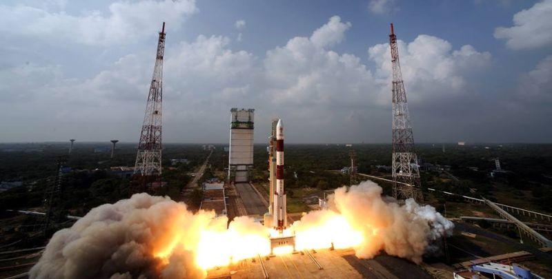 Первый индийский спутник Марса улетает в космос