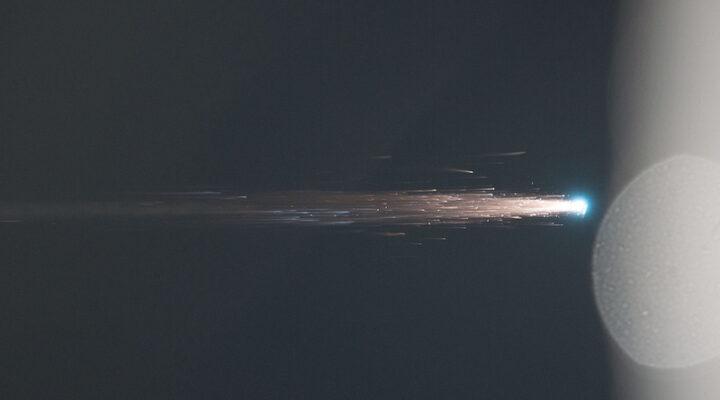 Видео: ATV-4 Альберт Эйнштейн сгорает в атмосфере