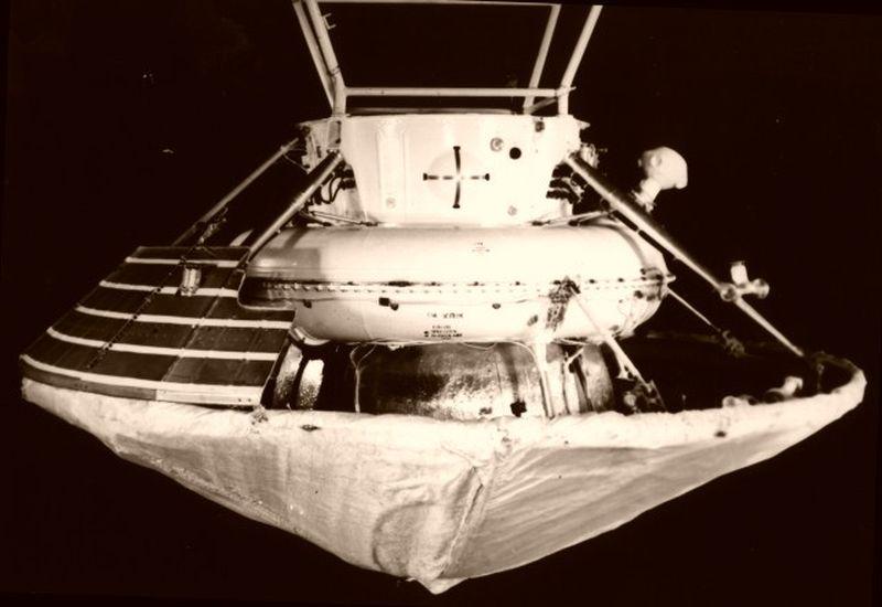 Спускаемый аппарат Марс-6