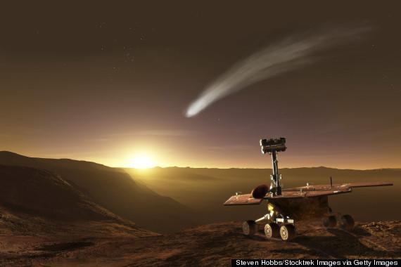 Оппортьюнити и комета Siding Spring