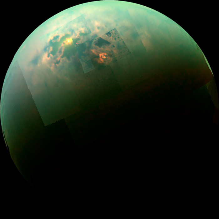 метановые моря титана