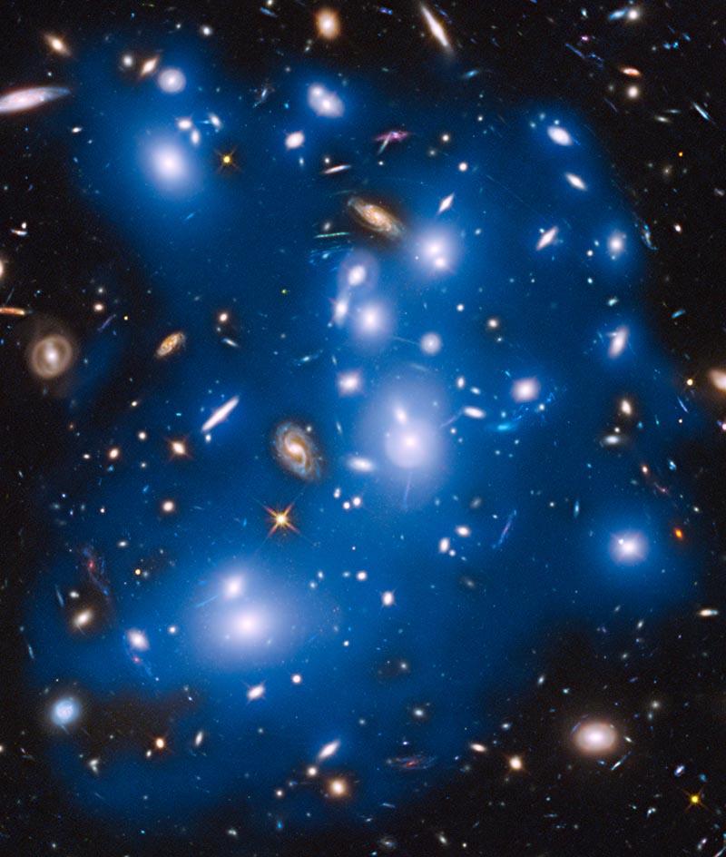 Галактический кластер Abell 2744