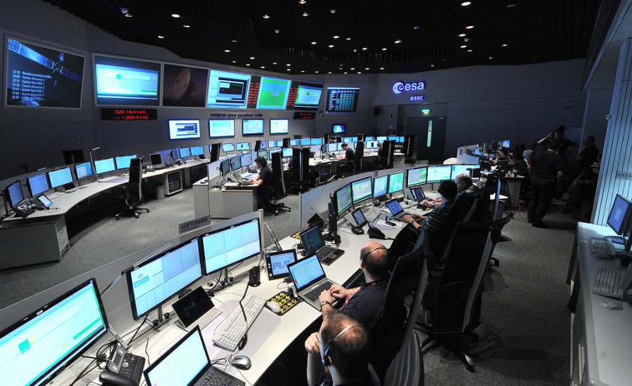 Расписание посадки на комету 67P