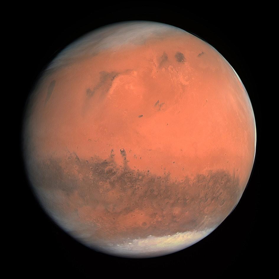 Марс от «Розетты»
