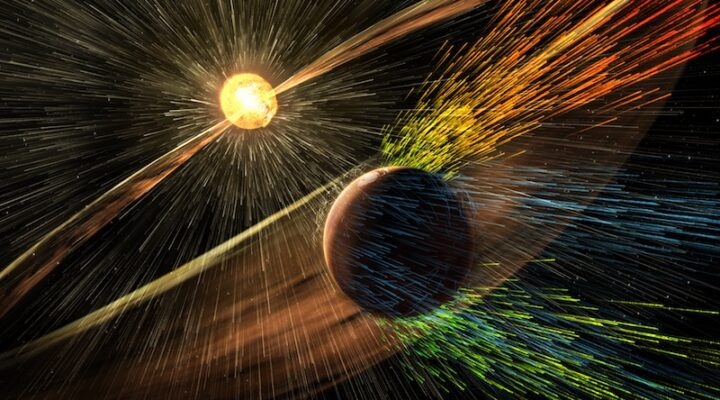 Как Марс потерял атмосферу