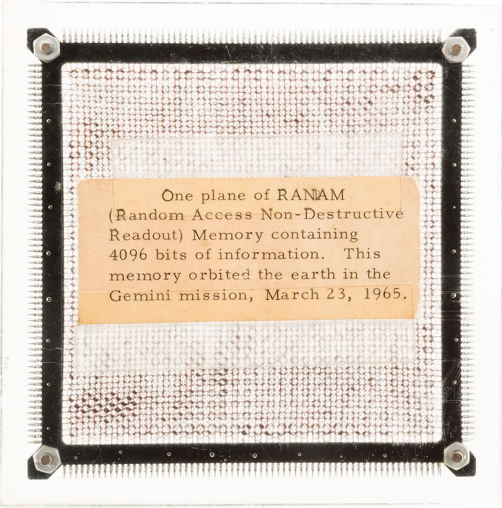 Планка памяти Джемини-3