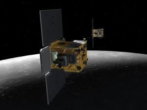 Эбб и Флоу над поверхностью Луны