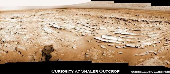 Кьюриосити последние новости: 2D/3D снимки области Шейлер