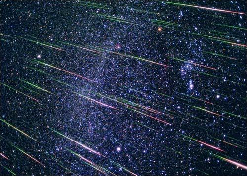 Метеорный поток Геминиды 2012