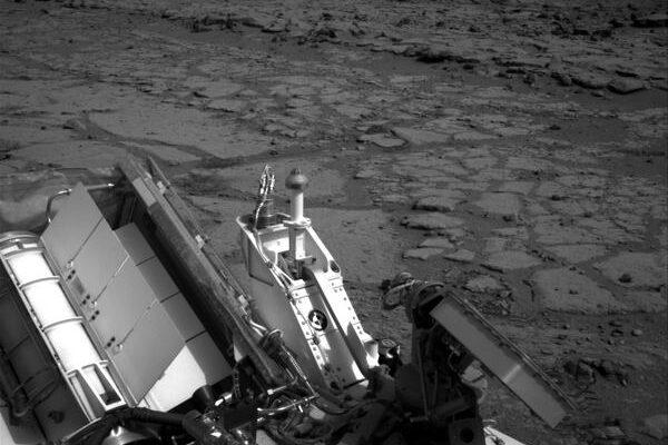 Марсоход Кьюриосити исследует Залив Йеллоунайф