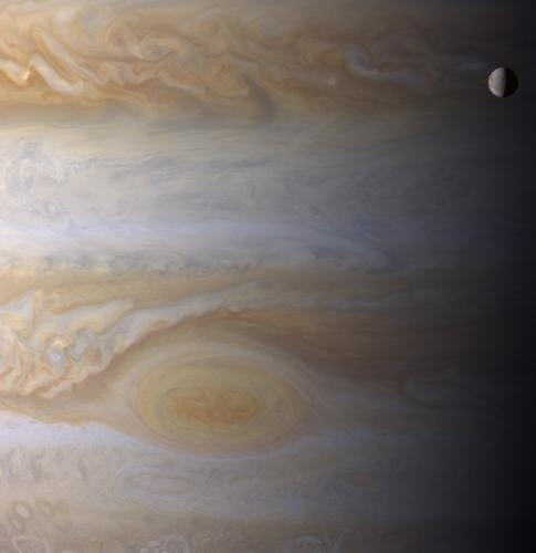 БКП и спутник Юпитера Европа