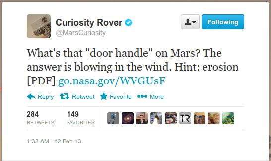 дверная ручка на Марсе