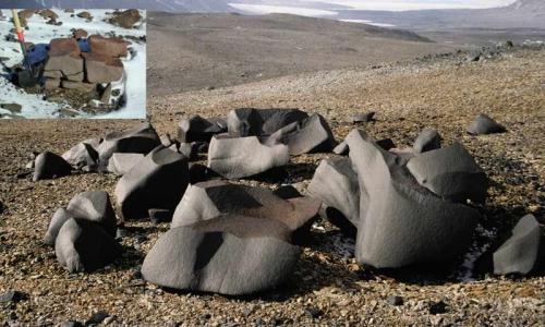 Вентифакты в Антарктиде