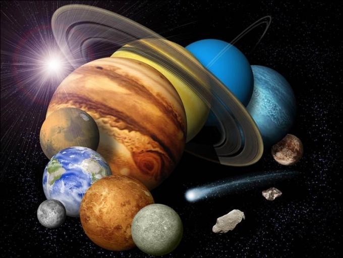 Интересные факты о Солнечной Системе Астрономия по русски Интересные факты о Солнечной системе Объекты Солнечной системы