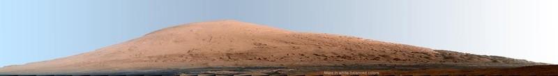 Панорама из кратера Гейла