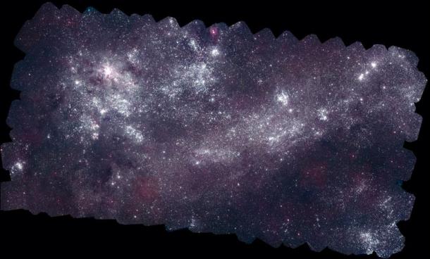 Большое Магелланово Облако в ультрафиолете