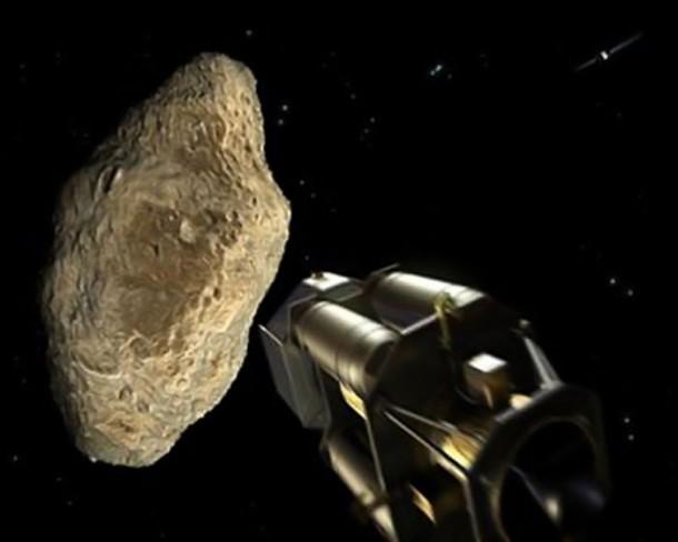 Сбить астероид