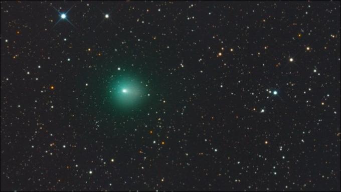 Комета Лавджоя 5 октября 2013