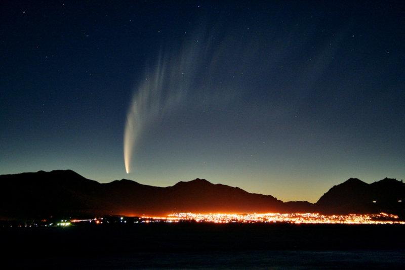 Конкурс на лучшую фотографию кометы ISON