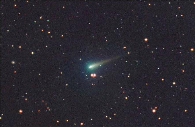 Комета ISON 5 октября 2013