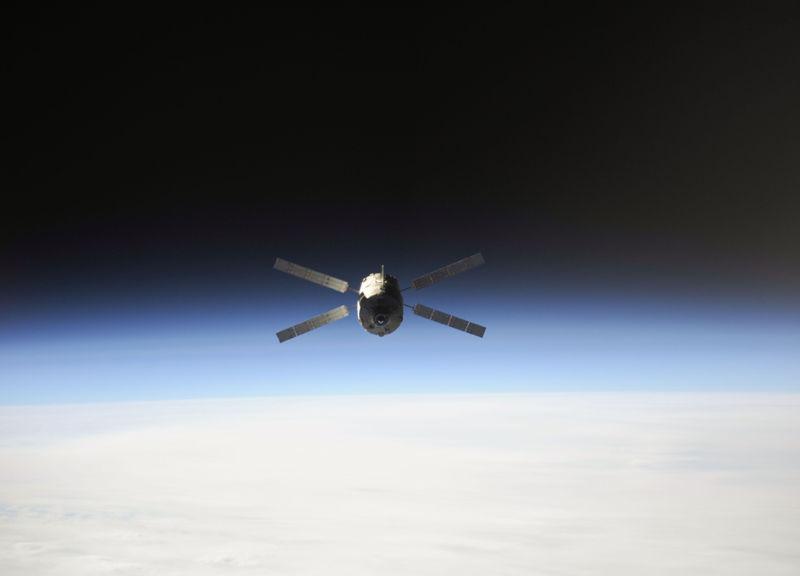 ATV-4 над Землей