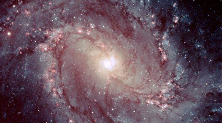 Галактика М83 или Южная Вертушка