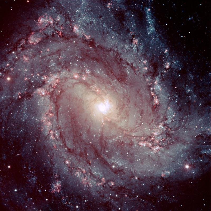 М83 от южной обсерватории