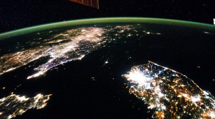 Северная Корея — территория ночи
