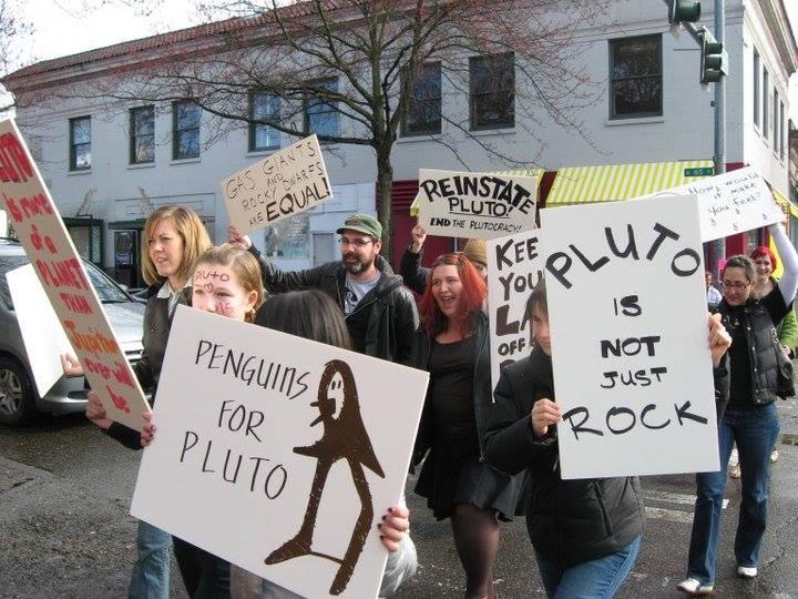 Не будь дураком, поддержи Плутон