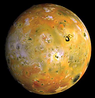 "Ио глазами аппарата ""Галилео"" Источник: NASA"