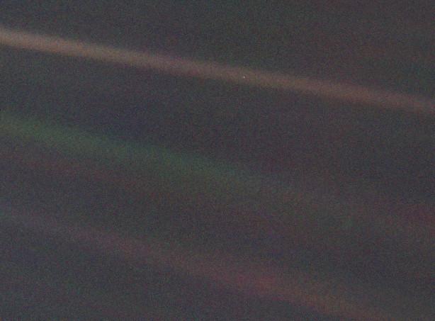 Земля от «Вояджер-1»