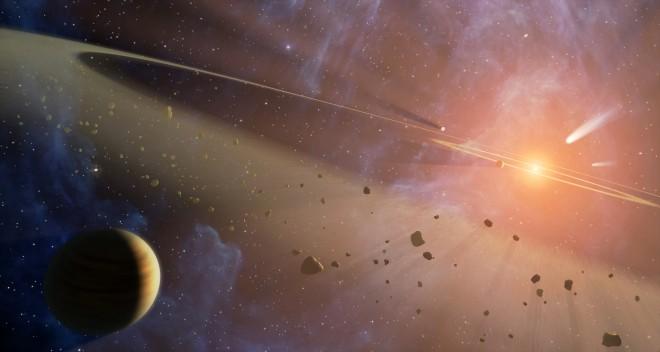 Молодая Солнечная система