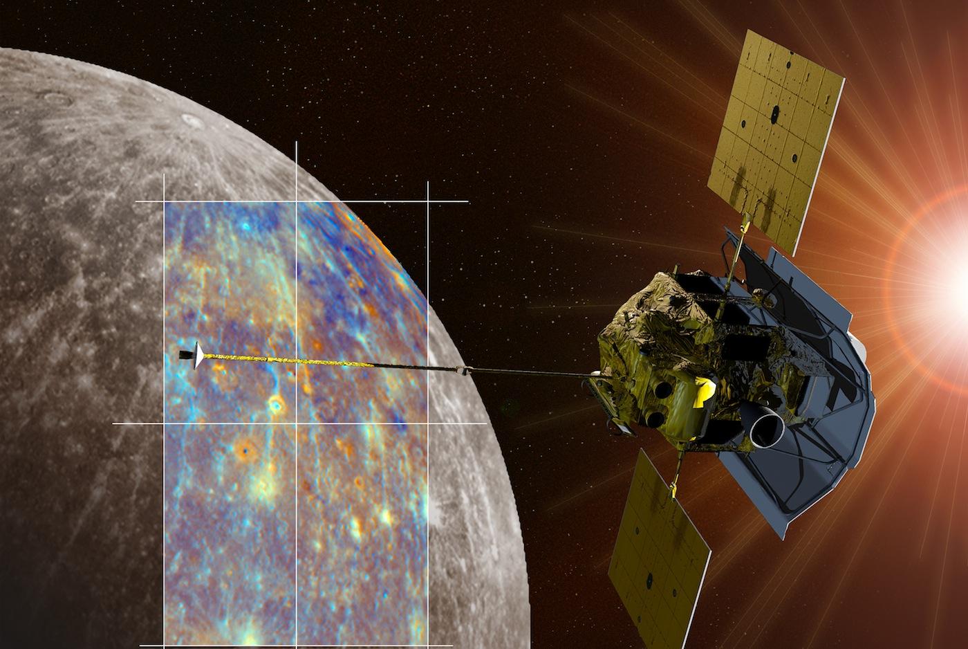 Четыре тысячи полетов вокруг Меркурия совершил «Мессенджер»