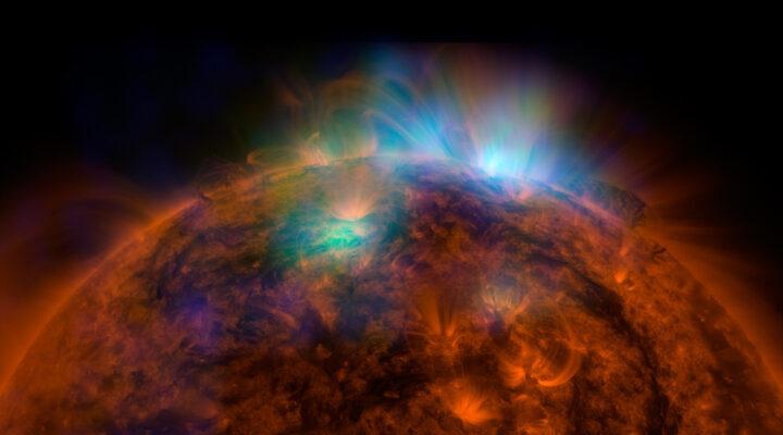 Телескоп NuSTAR получил самое детальное изображение Солнца в жестком рентгеновском диапазоне