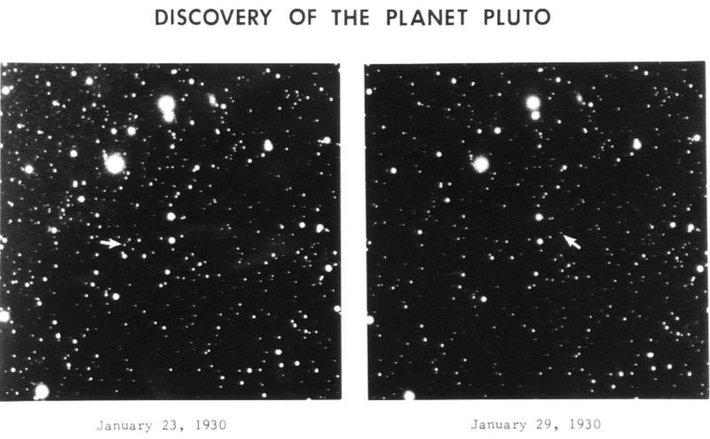 Первая фотография Плутона