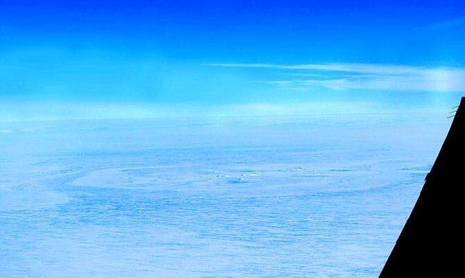Необычная формация в Антарктиде может оказаться последствием недавнего падения астероида