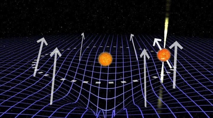 «Исчезнувший» пульсар помог ученым исследовать искривление пространства-времени