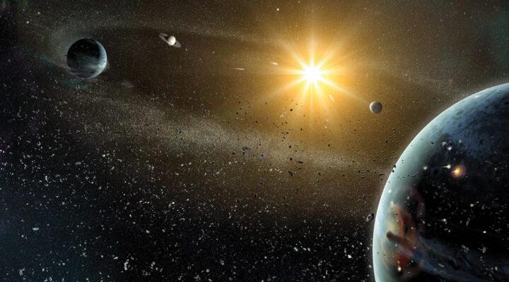 Юпитер мог уничтожить все суперземли в ранней Солнечной системе