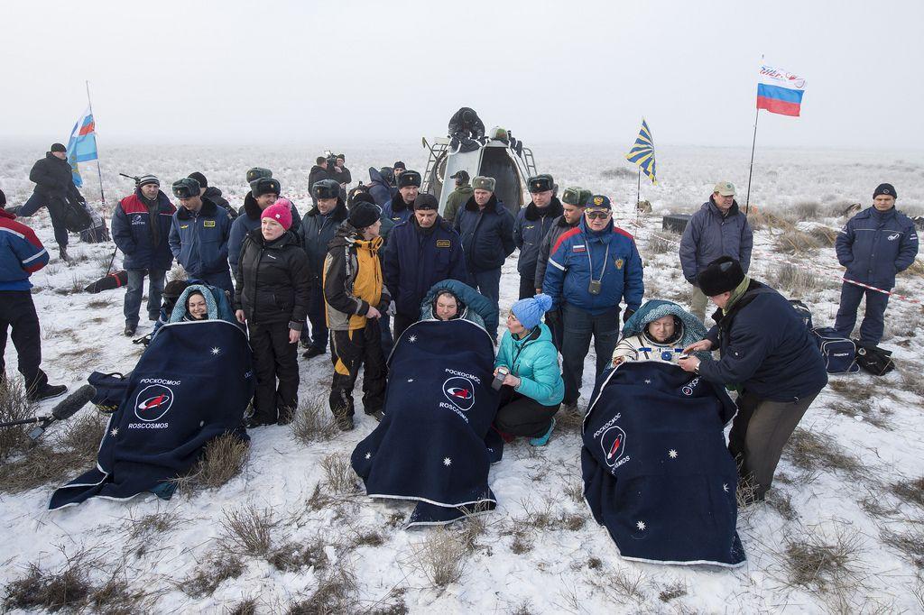Экипаж МКС-41/42
