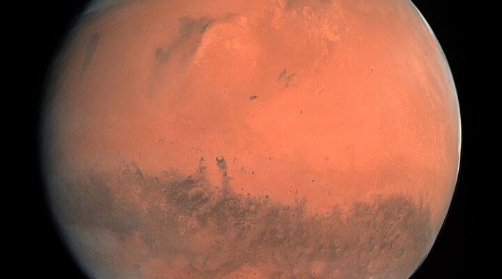 Марс от Розетты