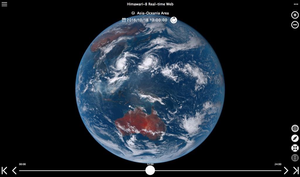 Фотографии Земли в реальном времени